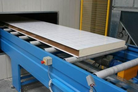 Производство сэндвич панелей