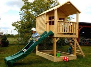 Детские игровые площадки для загородного дома