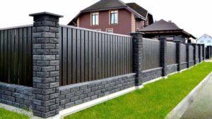 Какой высоты можно делать забор
