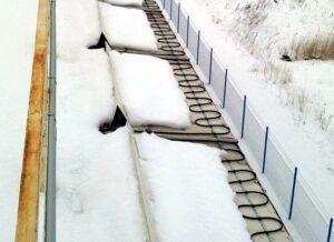 Организация системы снеготаяния на крыше