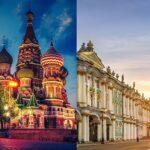 Москва или Петербург — что посетить туристу в первую очередь